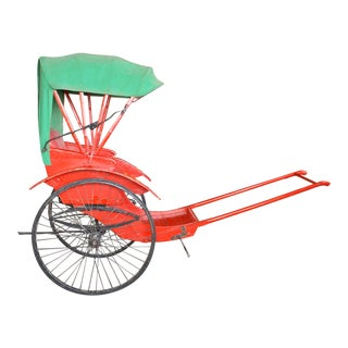 Restored Antique Rickshaw For Sale