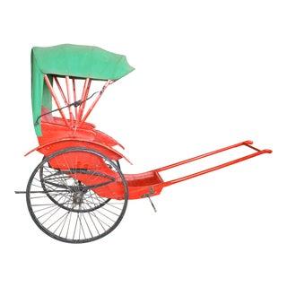 Restored Antique Rickshaw