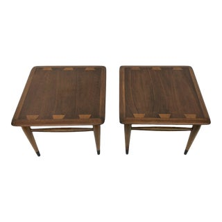 1960s Mid Century Modern Lane Acclaim End Tables - a Pair For Sale