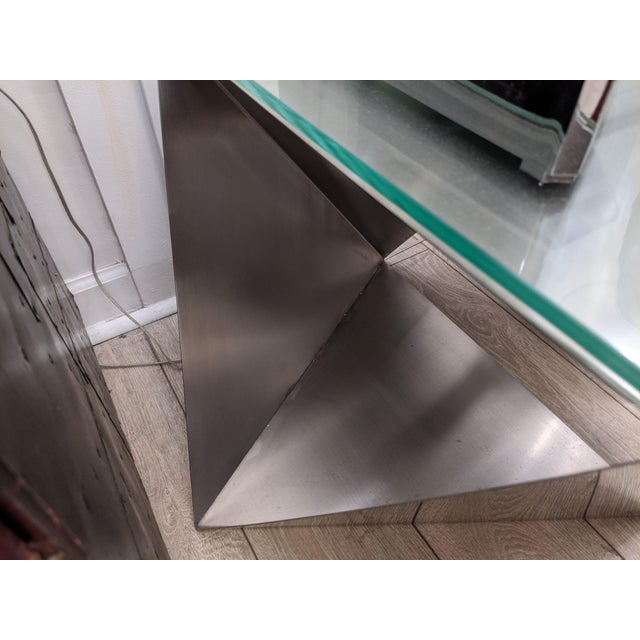 Modular Polyhedron Side Tables by Manfredo Massironi For Sale - Image 10 of 12