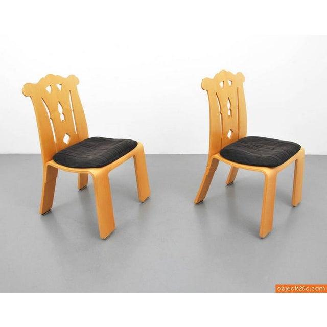 Robert Venturi 1980s Chippendale Robert Venturi Side Chairs - a Pair For Sale - Image 4 of 7