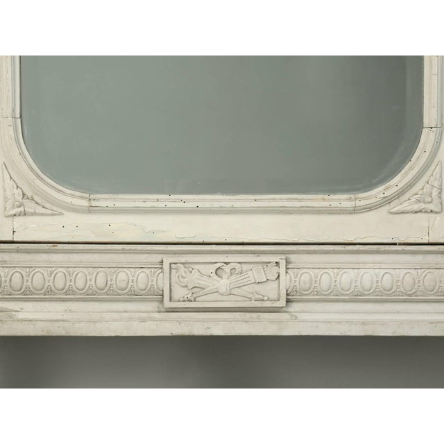 Paint Antique French Original Painted Armoire, Circa 1900 For Sale - Image 7 of 10