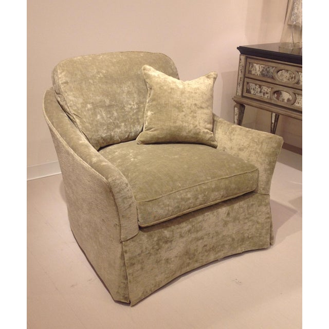 Contemporary Lillian August Mayfair Chair For Sale - Image 3 of 5