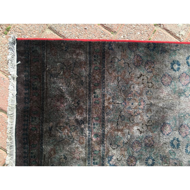 Overdyed Turkish Runner Rug - 2′8″ × 12′8″ - Image 5 of 9