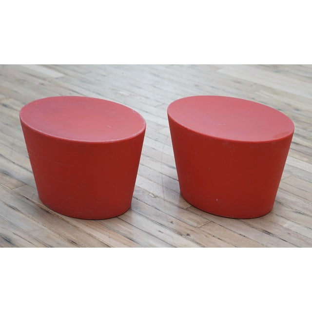 Abstract Maya Lin for Knoll Studio Outdoor Child's Seats - a Pair For Sale - Image 3 of 6