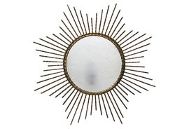 Image of Art Deco Sunburst Mirrors