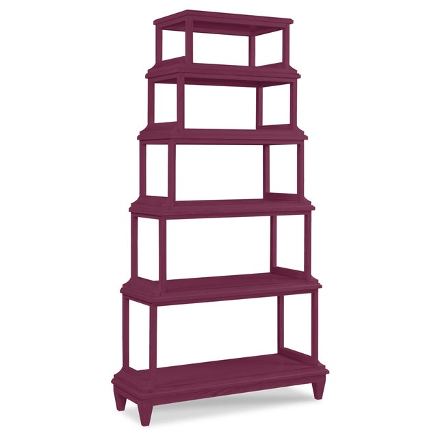 Asian Jules Etagere, Grape Juice For Sale - Image 3 of 3