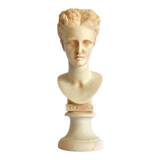 Vintage Dea of Butrint Goddess Bust Sculpture For Sale