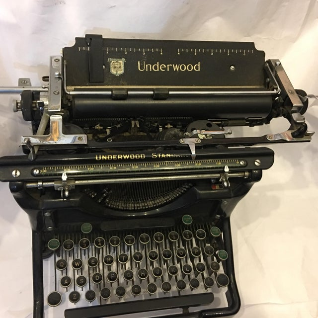 Vintage Underwood Standard Typewriter - Image 5 of 10