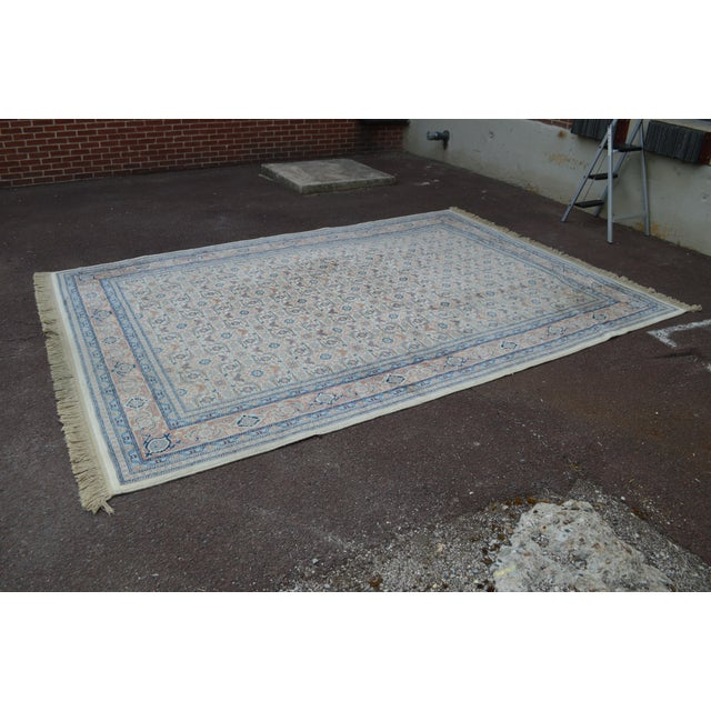 "1990s Karastan #789 Herati 8'8"" x 12' Room Size Rug For Sale - Image 5 of 13"