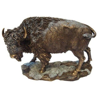 American Bison Buffalo in the Snow For Sale
