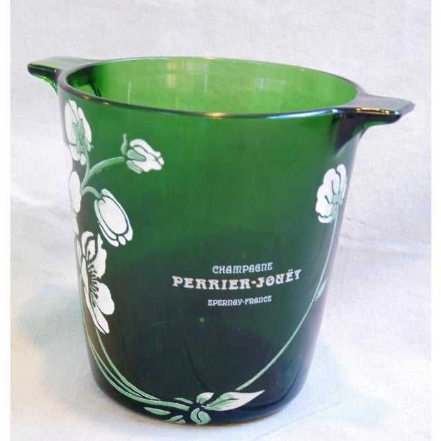 French Perrier-Jouët Champagne Chiller Bucket For Sale - Image 3 of 8