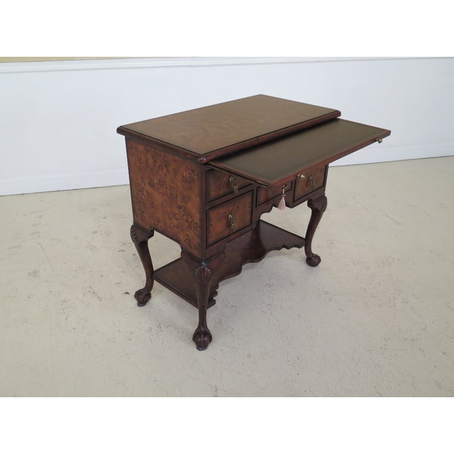 Hickory White Ball Claw Foot Walnut Lowboy Server For Image 10 Of 13