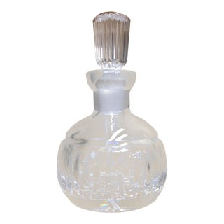 Waterford Crystal Contemporary Round Perfume Bottle For Sale