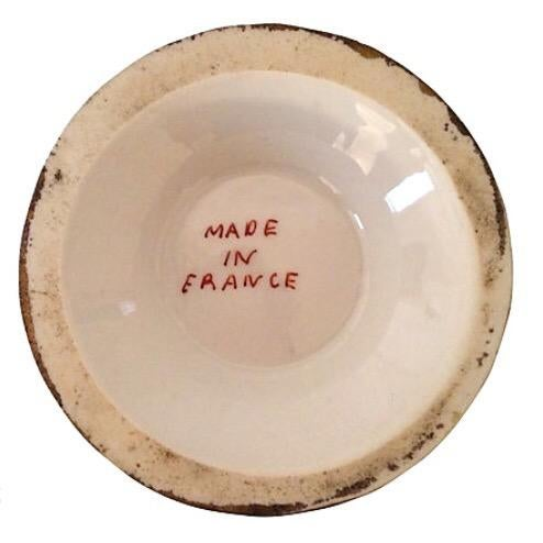 French Porcelain Cachepots - A Pair For Sale - Image 5 of 5