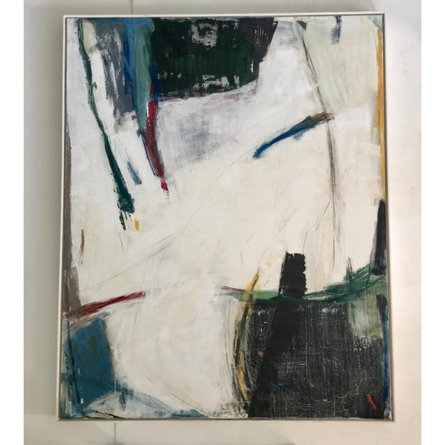 Abstract expressionism painting by Kimberly Moore. The painting can be hung either vertically or horizontally. Acrylic...