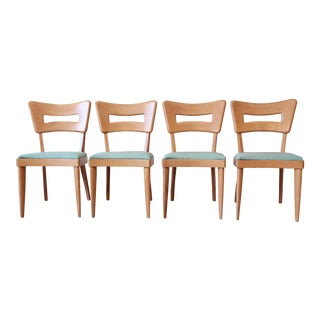 "Heywood Wakefield Mid-Century Modern ""Dogbone"" Dining Chairs - Set of 4"