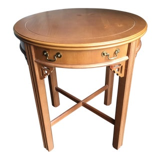 Lane Chippendale Style Side Table