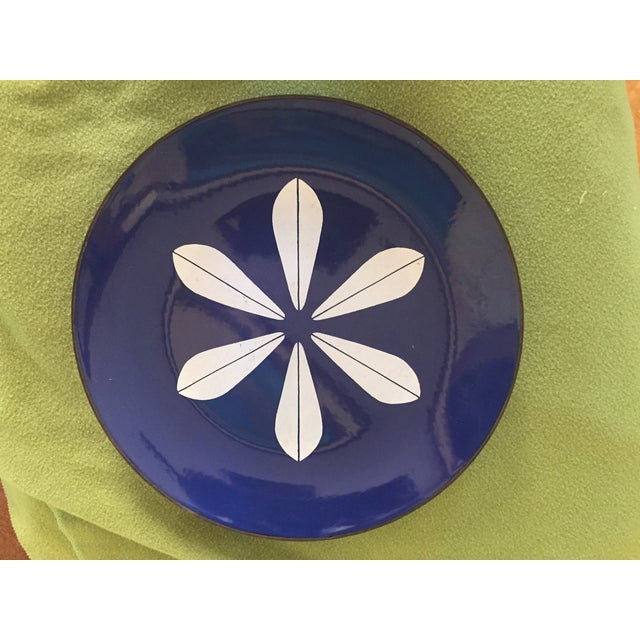 Catheineholm Blue Lotus Plates - Pair - Image 7 of 8