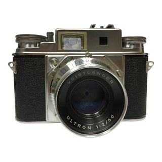 Vintage German Voigtlander Prominent II Camera