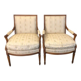 Henredon Beacon Hill Accent Chairs - a Pair For Sale