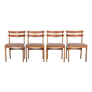 Danish Modern Dining Chairs - Set of 4 For Sale