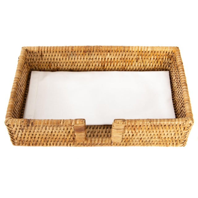 Artifacts Trading Company's hand woven napkin holders provide the perfect accent to any room in the house with a tight...