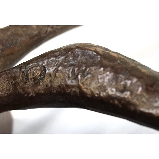 Frederick Weinberg Vintage Bronze Sculpture For Sale - Image 9 of 10
