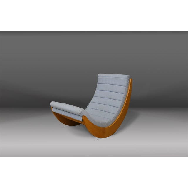 Rocking Chair by Verner Panton for Rosenthal, 1974 For Sale - Image 6 of 6