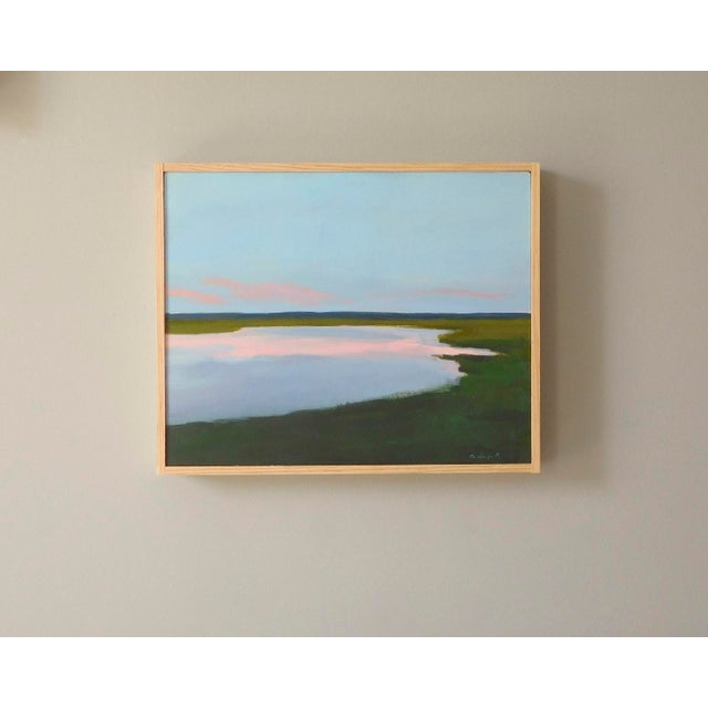 Sunset Painting by Anne Carrozza Remick For Sale - Image 5 of 5