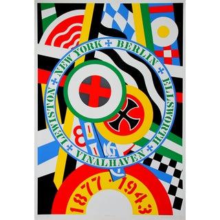 Robert Indiana, Hartley Elegies: KvF IV Serigraph For Sale