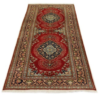 """Vintage Turkish Kayseri Carpet - 3'3"""" x 8'2"""" For Sale"""