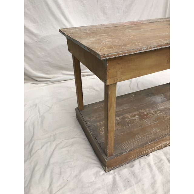 Antique Southern Primitive Work Tables - a Pair For Sale - Image 12 of 13