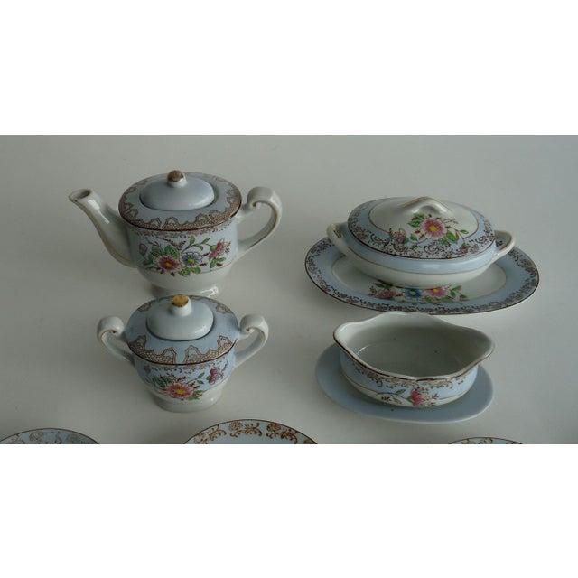 Antique Porcelain Child's Tea Set - 21 Pieces - Image 3 of 6