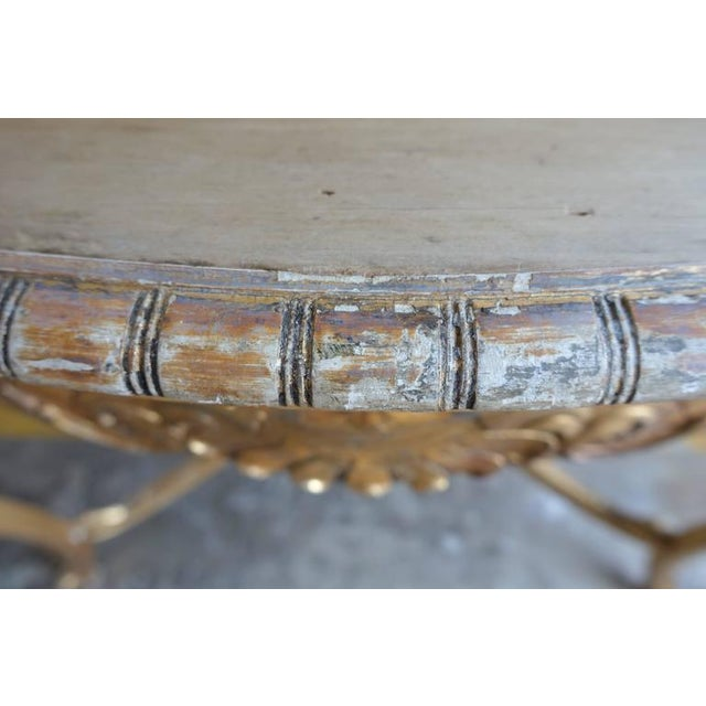 19th Century French Shell Design Table - Image 3 of 9