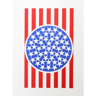 Robert Indiana, New Glory Banner, Serigraph