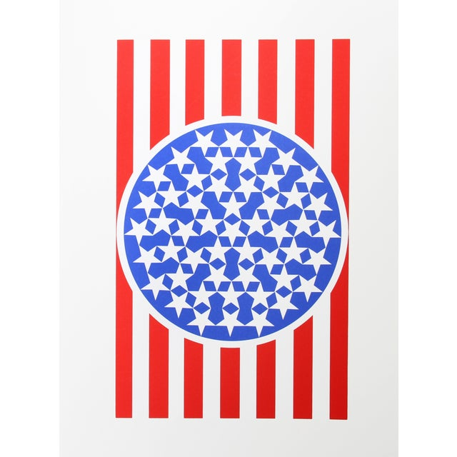 Robert Indiana, New Glory Banner, Serigraph For Sale