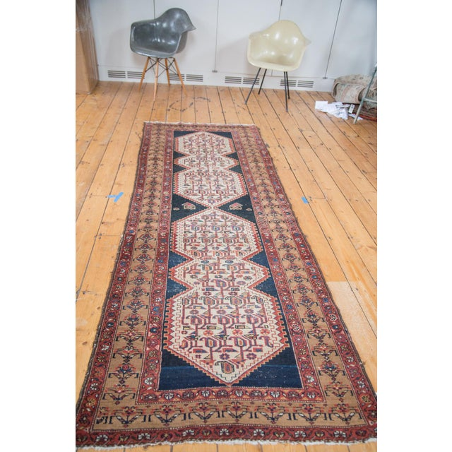 "Distressed Malayer Runner - 3'4"" X 9'2"" - Image 5 of 10"