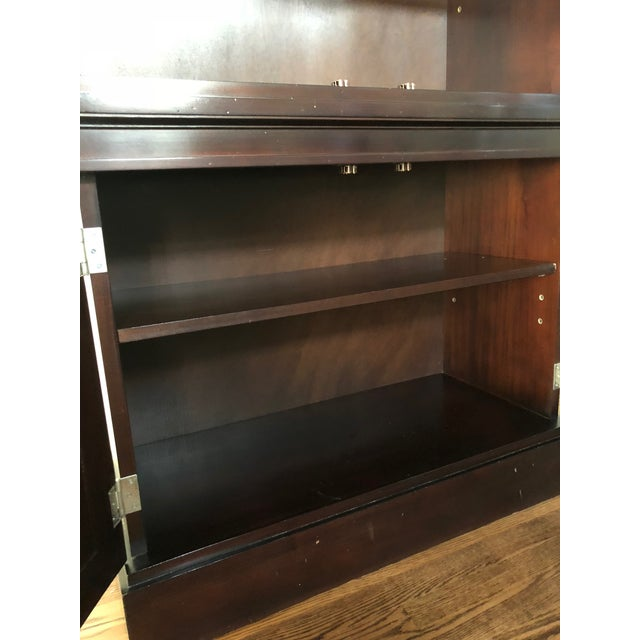 Contemporary Milling Road/Baker Lighted Display Cabinet For Sale - Image 3 of 8