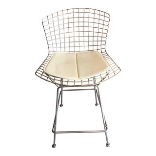 Knoll Bertoia Barstools (Two) For Sale