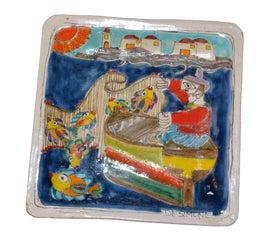 Image of Folk Art Decorative Plates