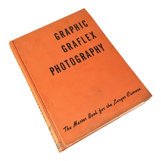 1944 Graphic Graflex Photography Book For Sale