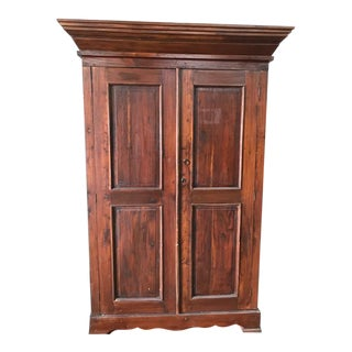 Mid Century Vintage Armoire For Sale