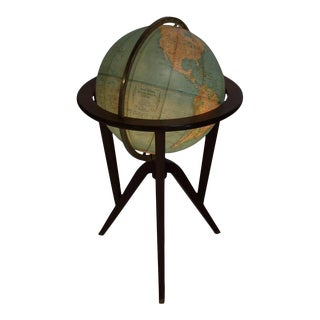 Ed Wormley of Dunbar Mid-Century Modern Illuminated Globe Light Fixture For Sale