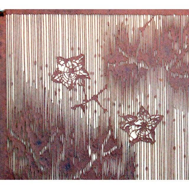 67cb73838 Mid 19th Century Antique Japanese Kimono Fabric Stencil Katagami For Sale -  Image 5 of 10