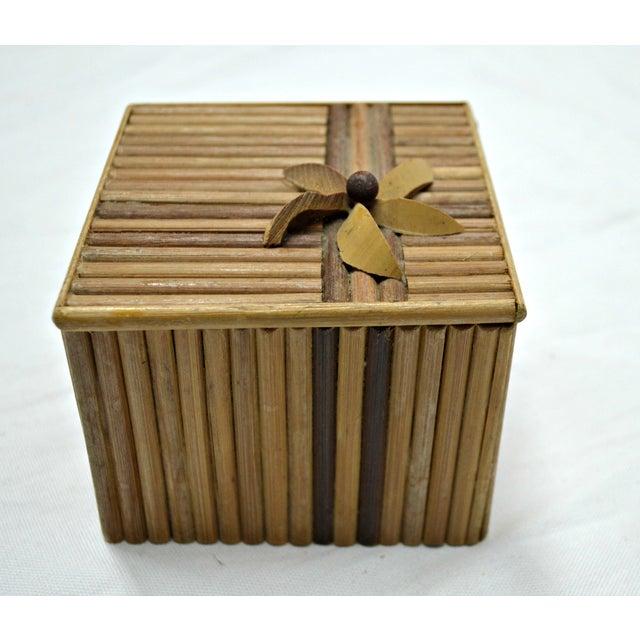 Rustic Wooden Stick Cigarette Box - Image 7 of 9