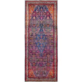 "Vintage Persian Hamadan Rug – Size: 3' 11 X 9' 8"" For Sale"
