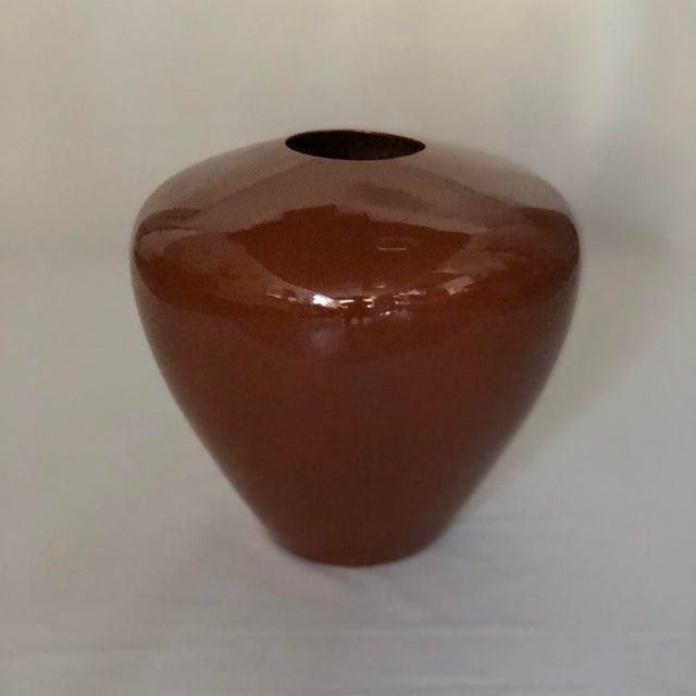 Vintage 1980s Jaru Pottery Urn For Sale In Jacksonville, FL - Image 6 of 6