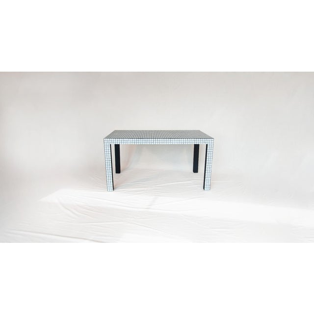 Not Yet Made - Made To Order Superstudio ™ / Origin Collection 2020 - Shop Table - Ashen White For Sale - Image 5 of 9