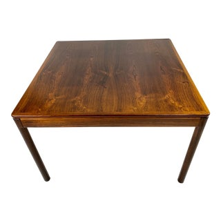 Mid-Century Modern Rosewood Table by Centrum Mobler For Sale